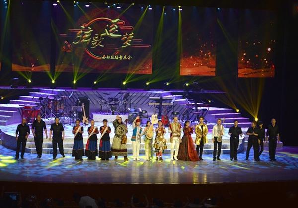 腾格尔领衔中央民族歌舞团群星演唱会5日来烟台
